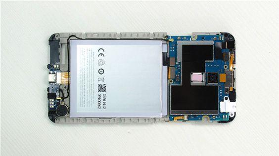 Novedad: Así es el interior del Meizu m1 Note