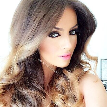 """Flawless Doll! Re-create this look with #Eyelashi #minklashes in """"TRENDSETTER"""". Go to @beautybylindachiriac for tips and products used to create this Dolly-ful look! #gorgeousdoll #recreate #Eyelashi #minklashes #Trendsetter #celebmua #talent #luxelashes #ultraglam"""
