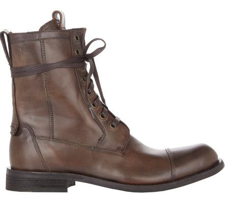 Love this: Strum Combat Boots-Brown Size 7 @Lyst