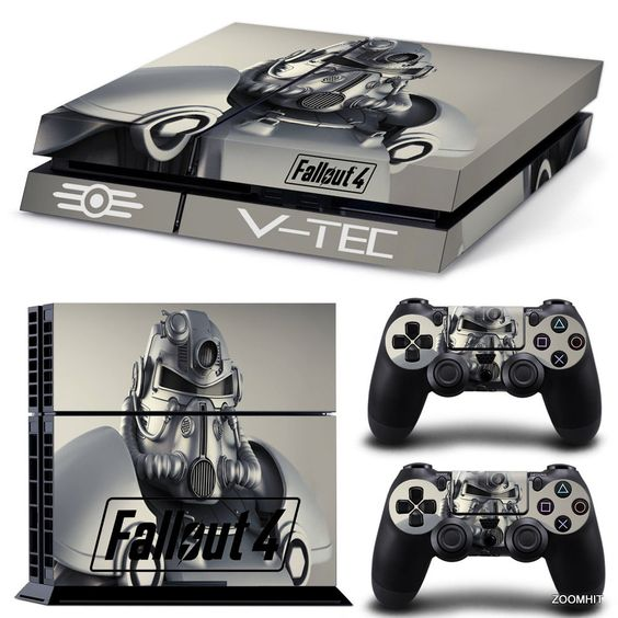 Details about ps4 playstation 4 console skin decal sticker fallout 4 2 controller skins set - What consoles will fallout 4 be on ...