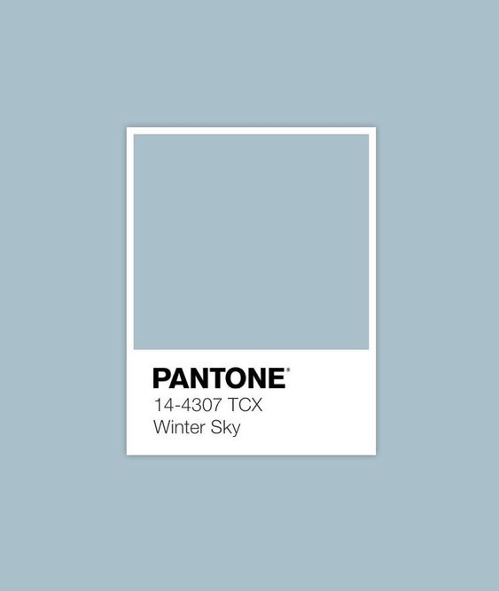 #winter sky #pantone #luxurydotcom