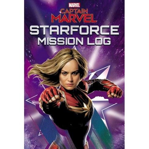 Captain Marvel Starforce Mission Log book