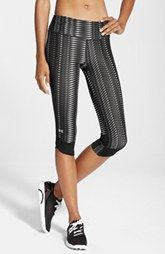Under Armour 'Fly By' Print Compression Capri