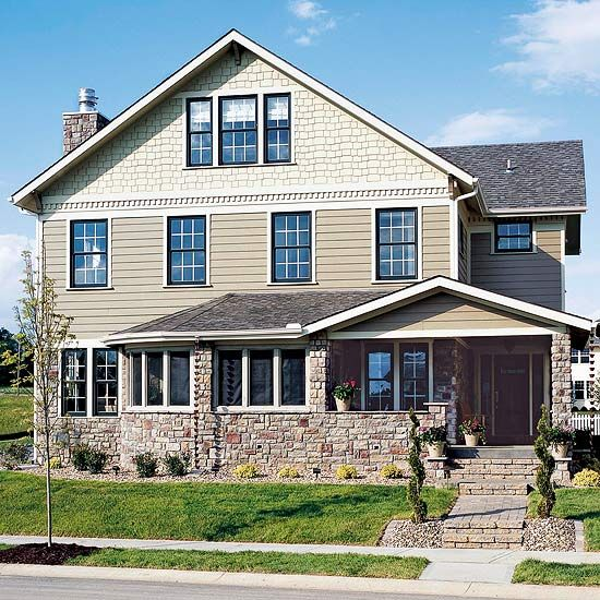 Vinyls the two and different types of on pinterest for Types of siding for homes