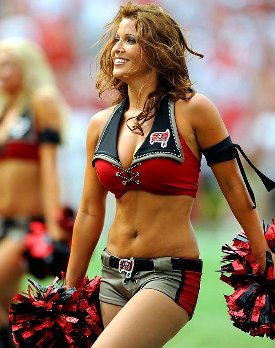 Tampa Bay Bucs Cheerleader