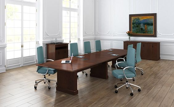 A Traditional Conference Table. Wood Furniture For Offices And  Collaborative Spaces : Nevers | Conference Solutions | Pinterest