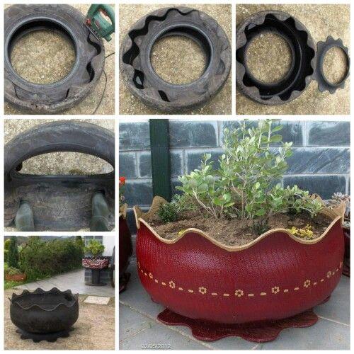 vaso de pneus