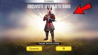 Ya Salio Como Conseguir El Samurai Zombie En Free Fire Nuevo Cubo Magico Free Gift Card Generator Free Game Sites Free Itunes Gift Card