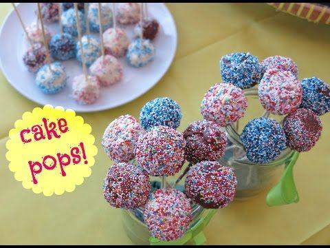 Cara Membuat Cake Pops Bola Bola Kue Youtube Kue Marshmallow Cokelat