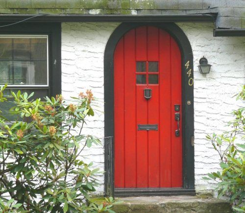 Can't wait to paint my front door red!!!