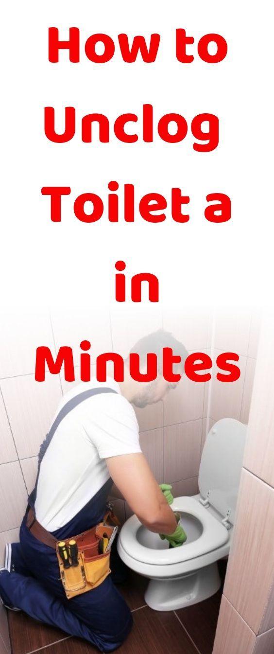 Pin On Clogged Toilet Diy