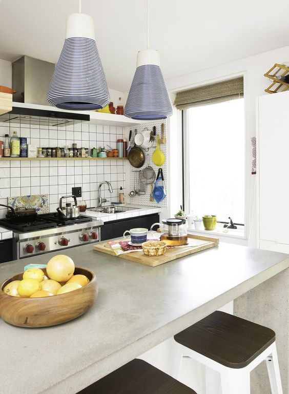 At Home With Refinery29 S Christene Barberich Simple Kitchen