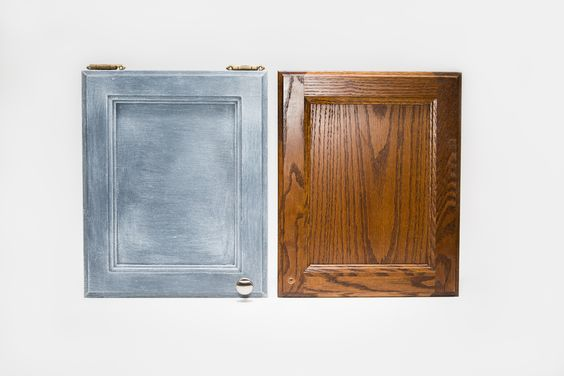 Apply One Step Paint™ and Liming Wax™ over your already-finished cabinetry!