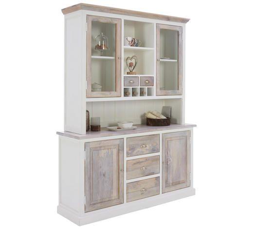 Küchenbuffet weiss Buffet Küchenschrank Regal Anrichte Holz Schubladen /& Türen