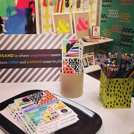 surtex 2013 // the big recap | Ampersand Design Studio, promotional pieces