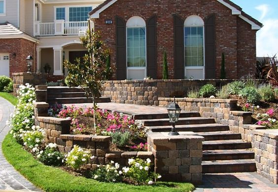 front courtyard front yards and wall ideas on pinterest