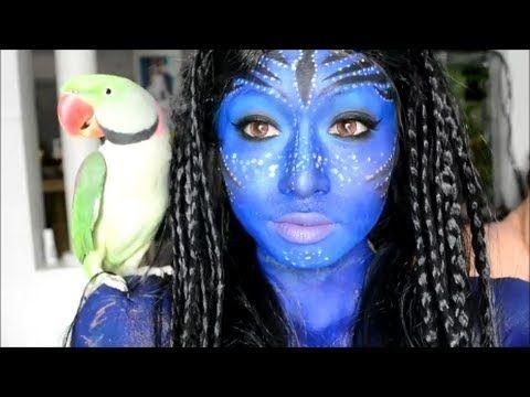 Stunning Avatar Makeup Tutorial