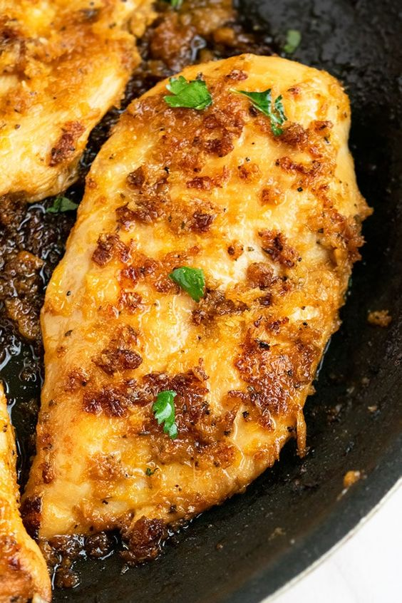 Stovetop Lemon Pepper Chicken