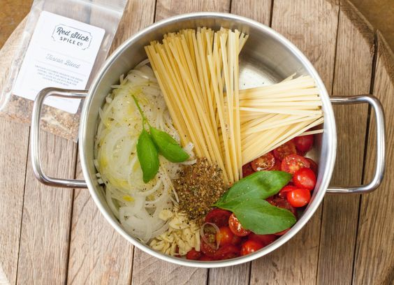 9 Minute Tuscan One Pot Pasta - more like one pot wonder!