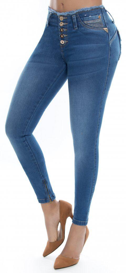 Jeans Levanta Cola Ene2 93376 Pantalones De Moda Jeans De Moda Pantalones Jeans