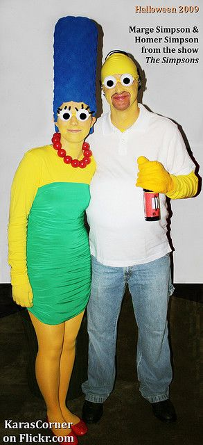 Marge & Homer couples costume