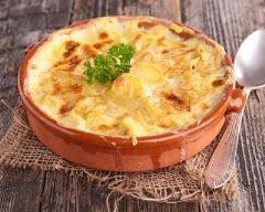 Tartiflette au poulet et au parmesan (facile, rapide) - Une recette CuisineAZ