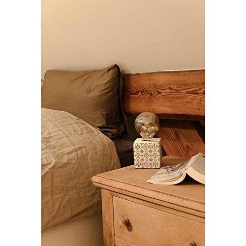 Lampe De Table Mosaique Or Blanc Motif Beton Lampe De Table Lampe De Chevet Lampes De Table Table Mosaique Lampe De Chevet