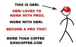 This is Geri. Geri loves to work with pros. Work with Geri. Becoma a pro too!