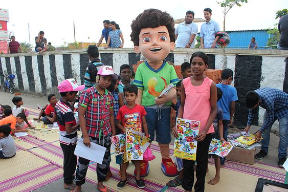 Sony YAY! character Kicko visit in Chennai