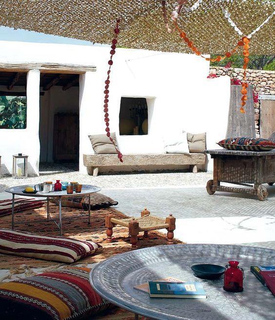 Chill-out en Ibiza | Camuflaje y sombra; Redes de sombreo by La Veleria: