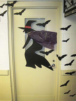 Halloween Door Decorating Bulletin Boards Pinterest Halloween - halloween office decorating ideas