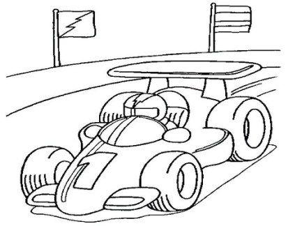 Imagenes De Carros De Carrera Para Colorear Dibujos De Autos Deportivos Faciles Dibujos De Autos Coches De Carreras Libro De Colores
