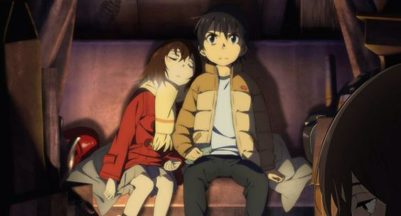 Erased Kayo and Satoru: