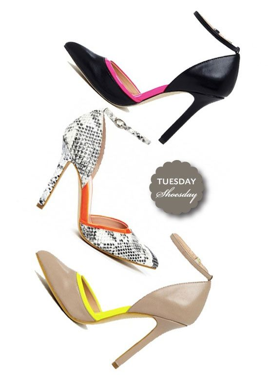 Sassy spring heels » Pearls for Paper