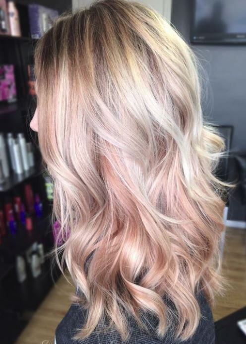 Rose Gold Hairstyles