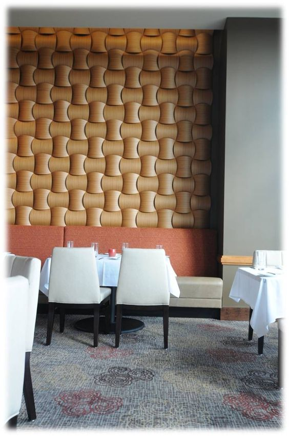 Wood Wall Weave Panels
