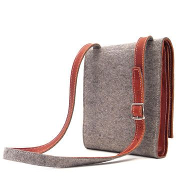 pure bag by alfred stadler - would love to try to make something like this.