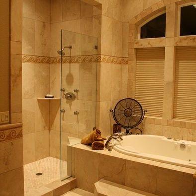 Doorless Showers Doorless Shower Design Pictures Remodel Decor And Bathing Ar