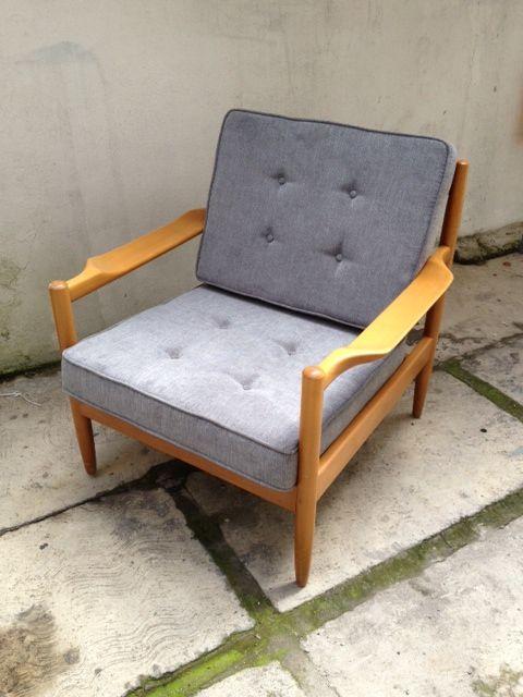 Decada muebles vintage decada polanco par de sillones - Sillones vintage retro ...