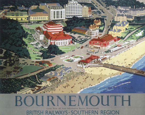 Bournemouth: British Railways - Southern Region.