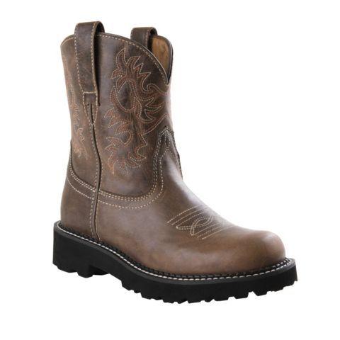 Ariat® Ladies' Fatbaby Boot, Brown Rebel - Tractor Supply Online ...