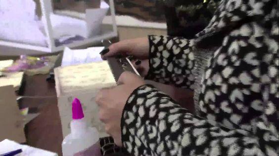 Caixa para Maquiagem com craquelê - vídeo 2/2