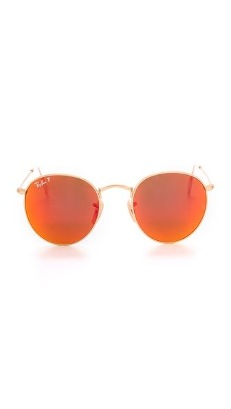 Shop now: Ray-Ban Mirrored Polarized Icons Sunglasses