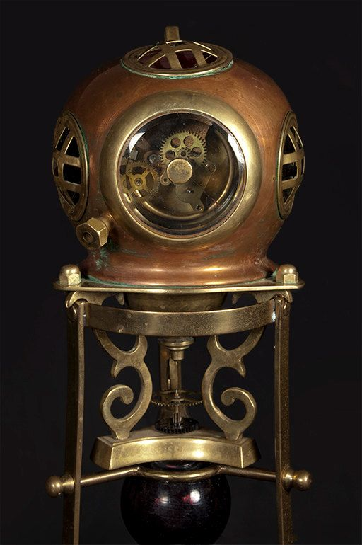 steam punk nautical clocks and steampunk on pinterest. Black Bedroom Furniture Sets. Home Design Ideas