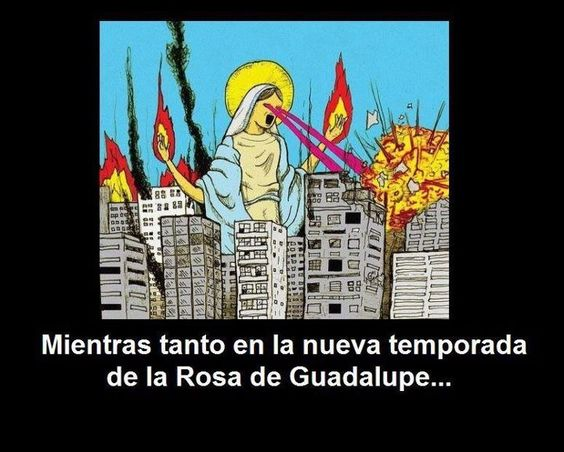La Rosa de Guadalupe! LOL.