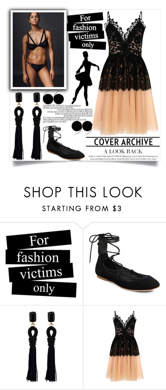 """""""ballerina"""" by teo-fox on Polyvore featuring Joie, True Decadence, dress and ballerina"""