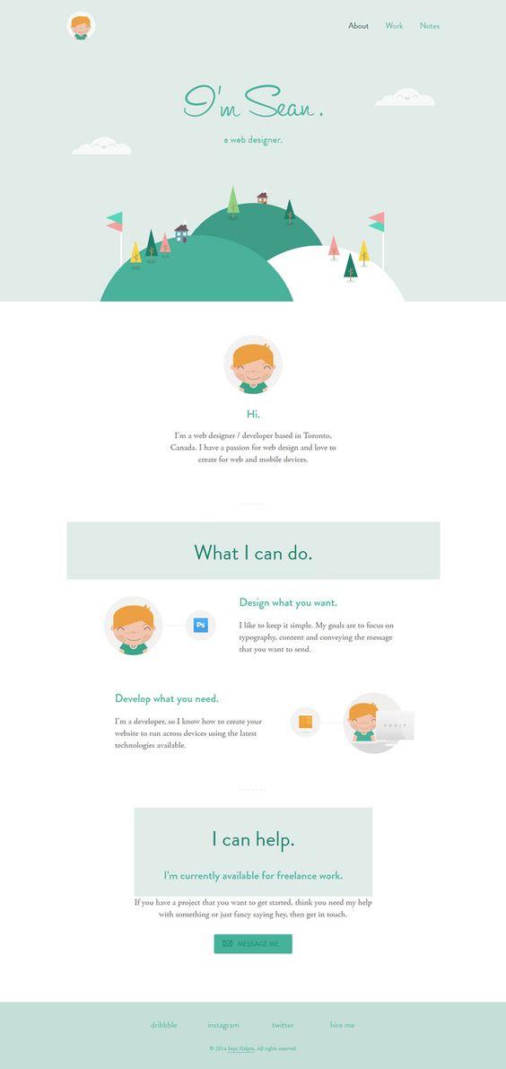 Sean Halpin #web #design #porfolio