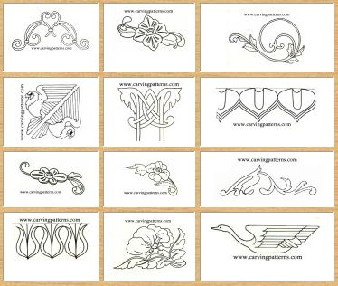 Wood carving patterns wood gardens and wood carvings on How to carve designs in wood