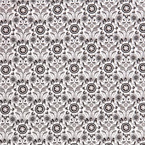 white flower leaf pattern (modeS4u)