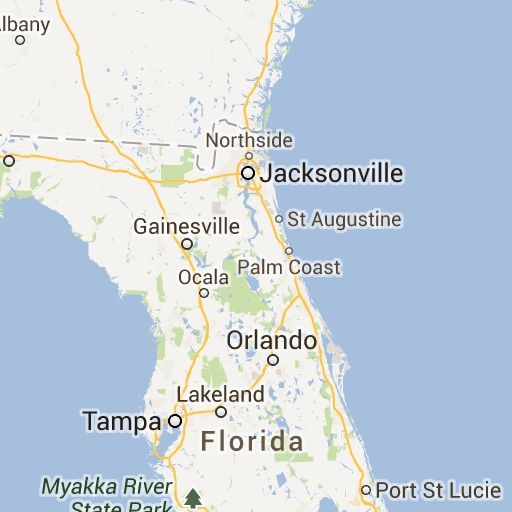 How Far Is Jacksonville Fl From North Palm Beach